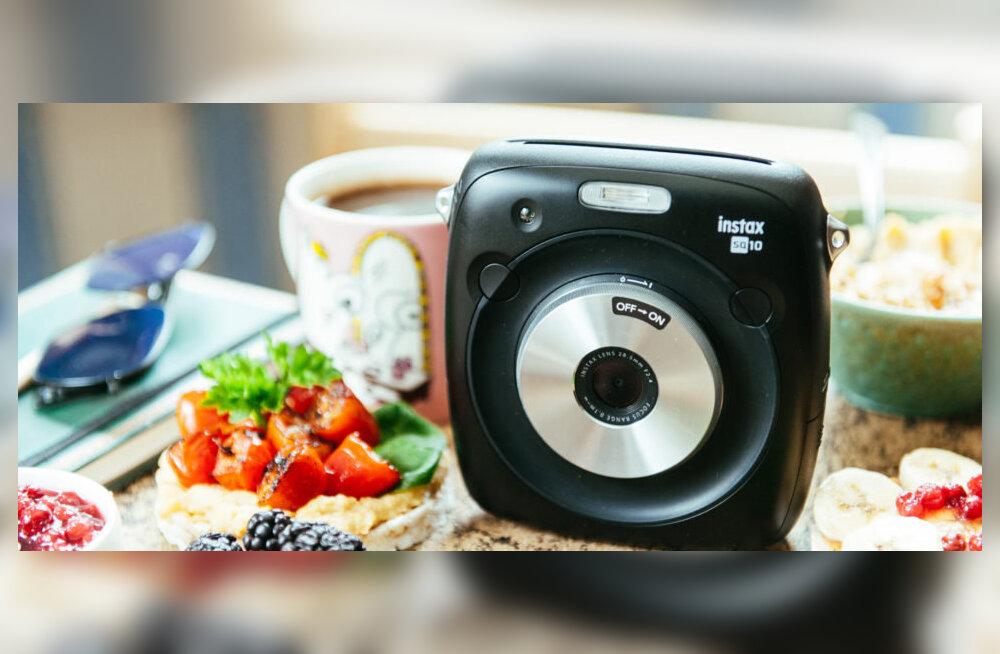 TEST | Fujifilm Instax Square SQ10 kiirpildikaameraga oled seltskonna hing!