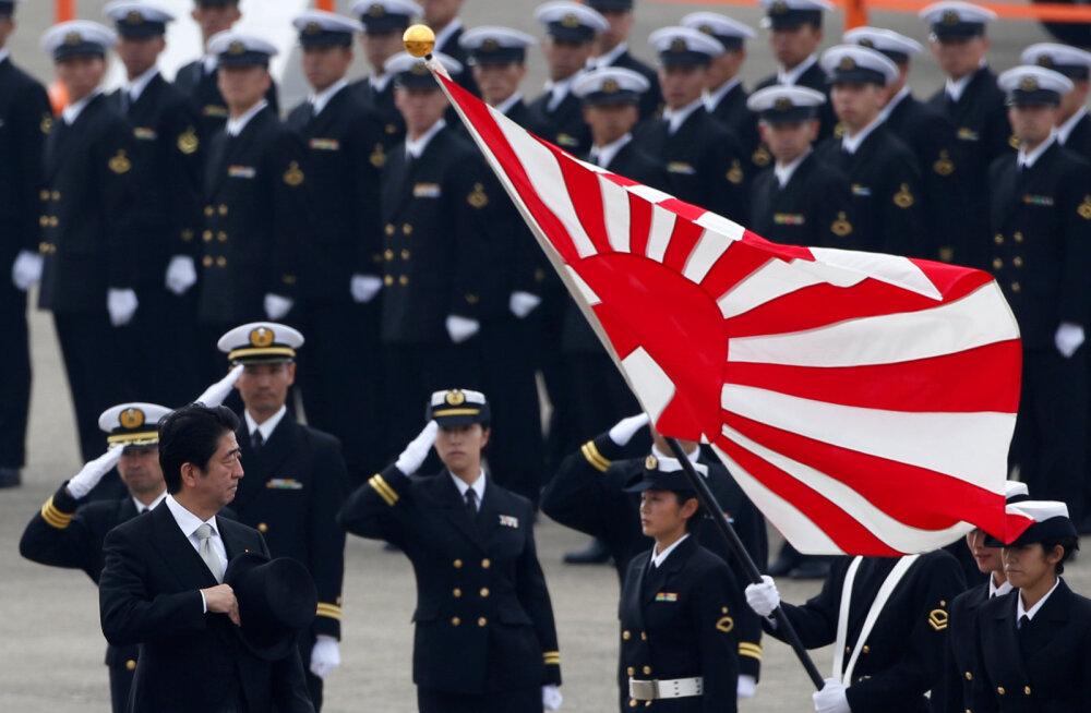 Jaapan suurendab regioonis kasvavate pingete ajendil kaitsekulutusi