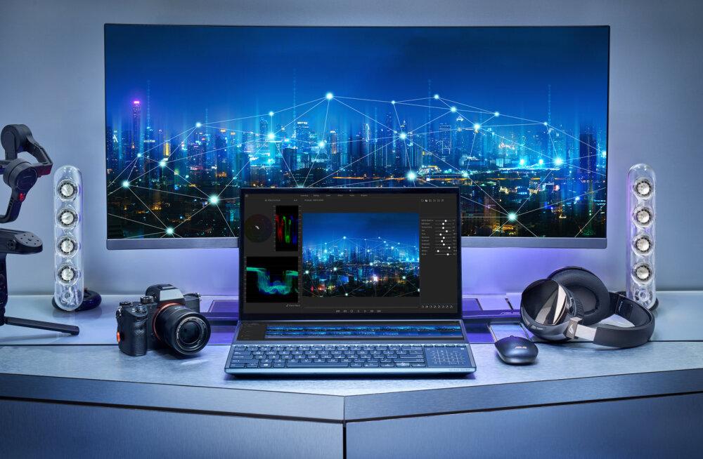 Tuleviku sülearvuti: ASUS ZenBook Pro Duo UX581