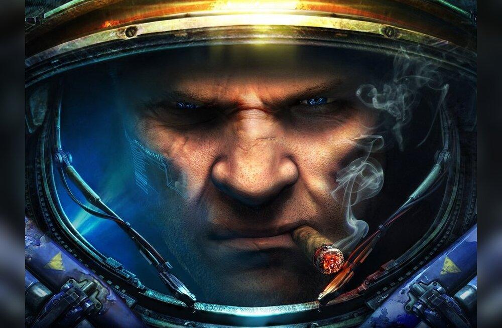 """""""StarCraft II"""" duellina kahel puuteekraanil!"""