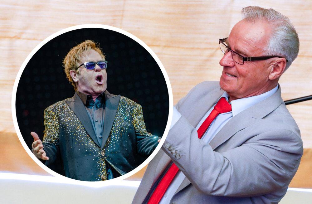 Heimar Lenk meenutab, kuidas kunagi Elton Johniga pidu pani: kraapisime siis pudelid lahti