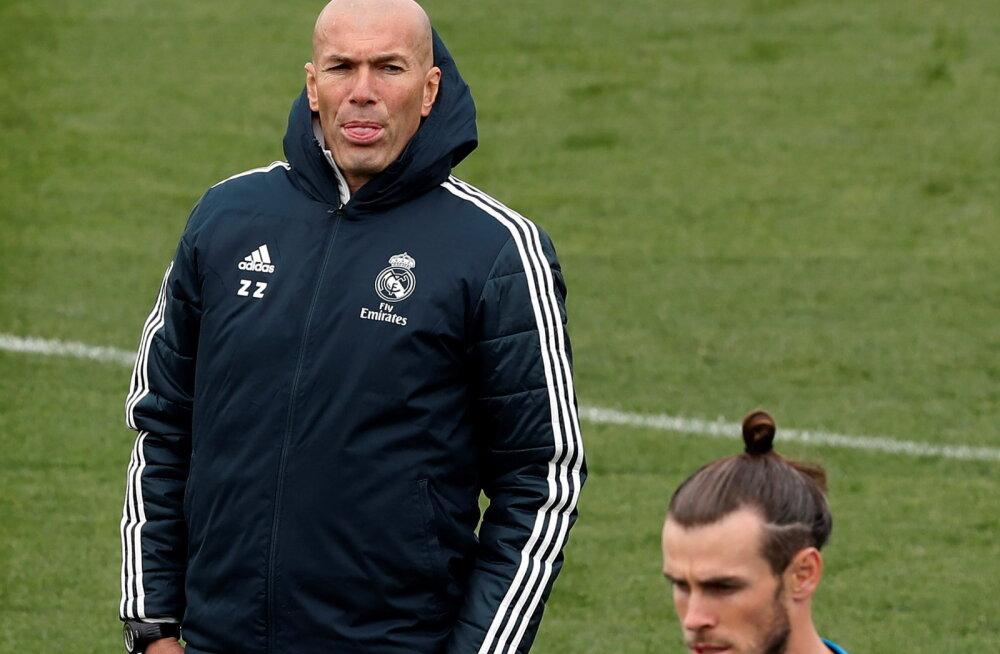 Zinedine Zidane jäi salapäraseks: saan Gareth Bale'i ja James Rodrigueze peale täielikult loota, aga kõike võib veel juhtuda