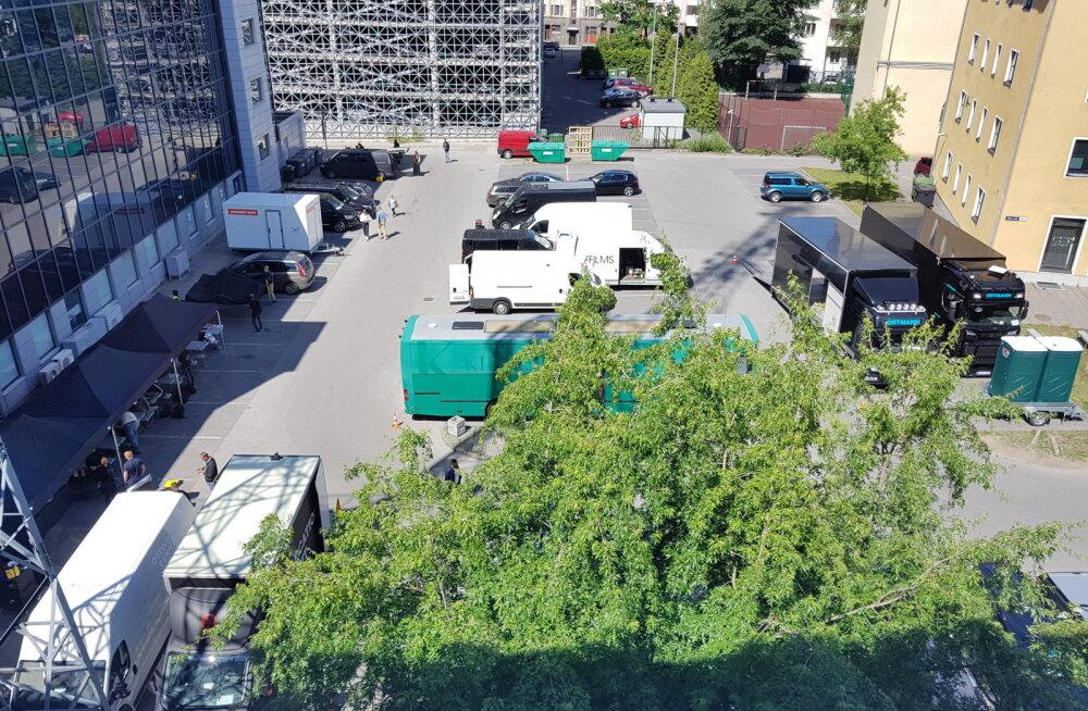 Tallinna kesklinnas toimuvad täna suuremahulised ja salapärased filmivõtted