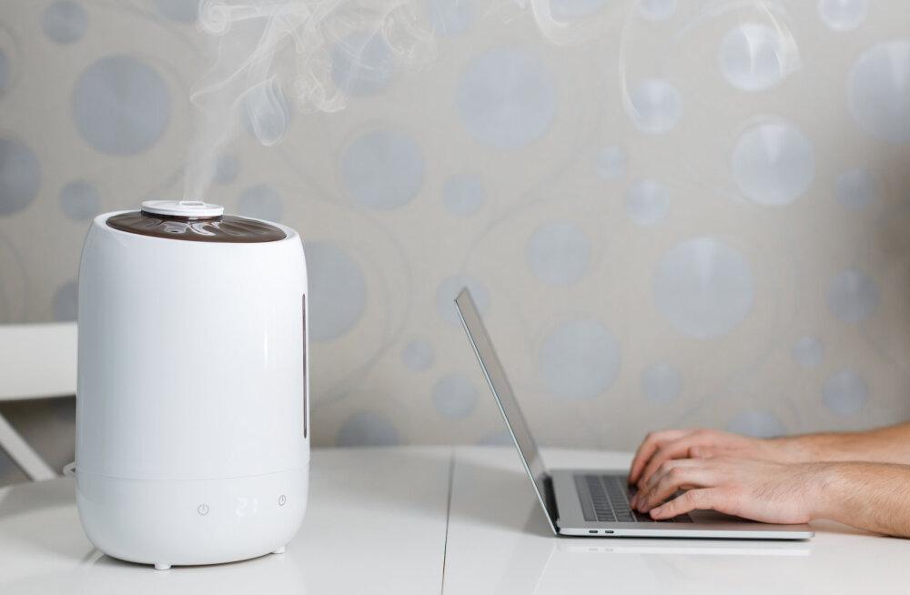 Uuri järele! Kas tervisemured, mis sind kimbutavad, on seotud liiga kuiva õhuga sinu kodus?