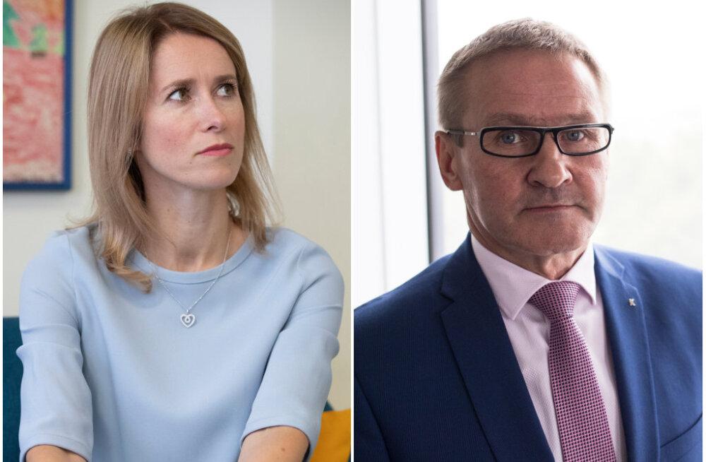 Kaja Kallase väited madalapalgaliste kohta vihastasid Keskerakonda: Jaak Aab nimetab Kallase arvamust kohatuks