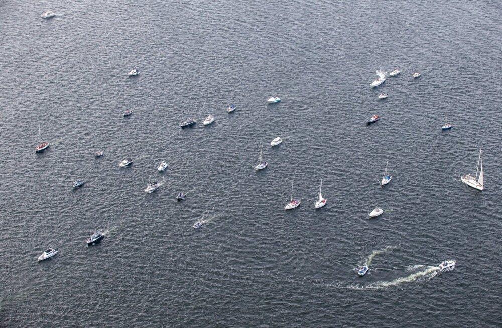 Tallinna Merepäevade regatt õhust