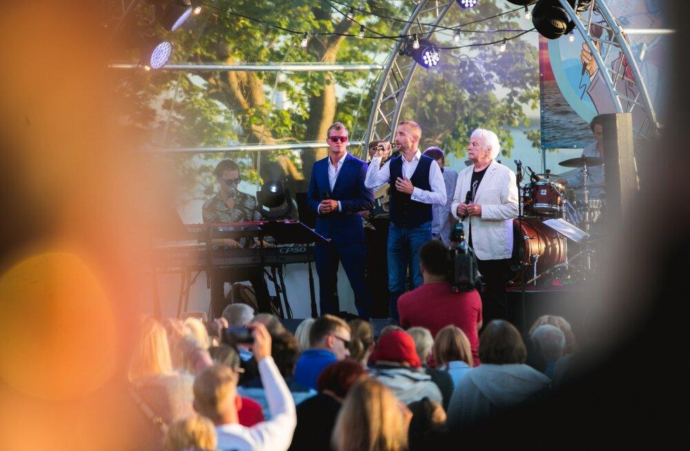 Juss Haasma, Märt Avandi ja Ivo Linna.