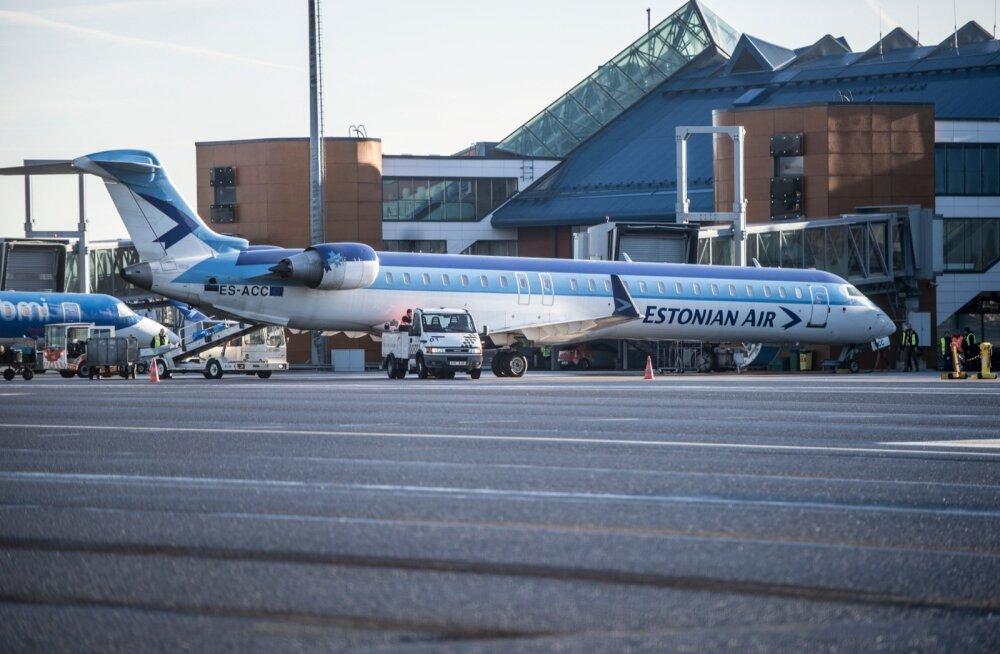 Pankrotis Estonian Air peab endiselt maksma lennukite hooldamise eest