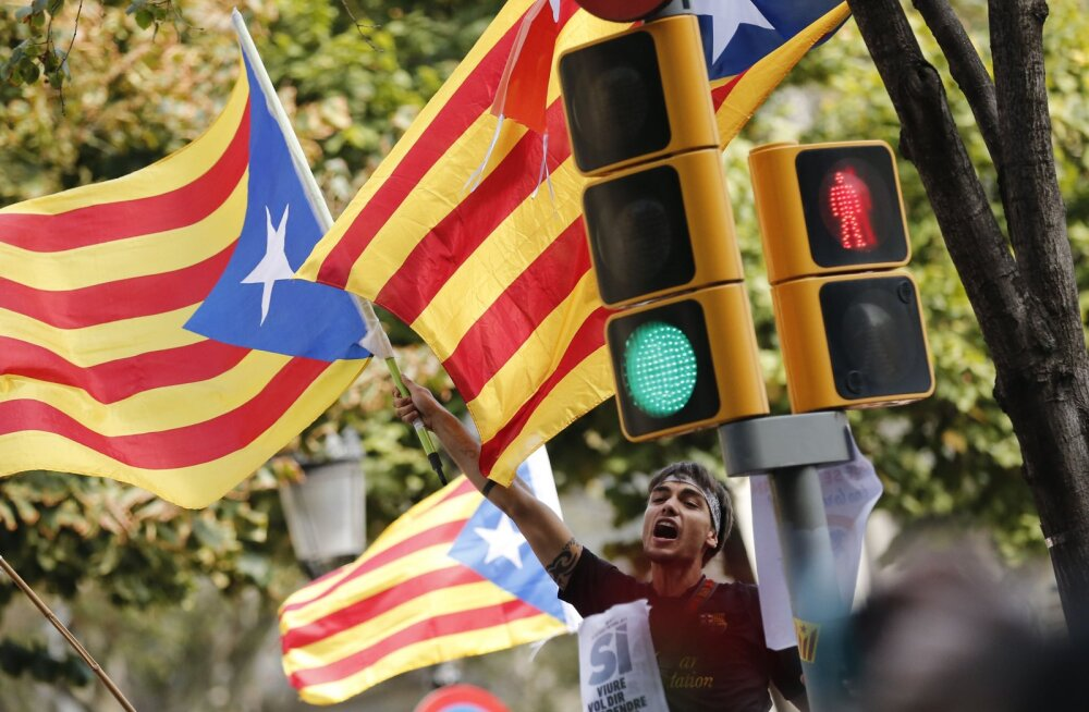 Hispaaniale alistatud Kataloonia teeb viienda katse iseseisvaks riigiks saada