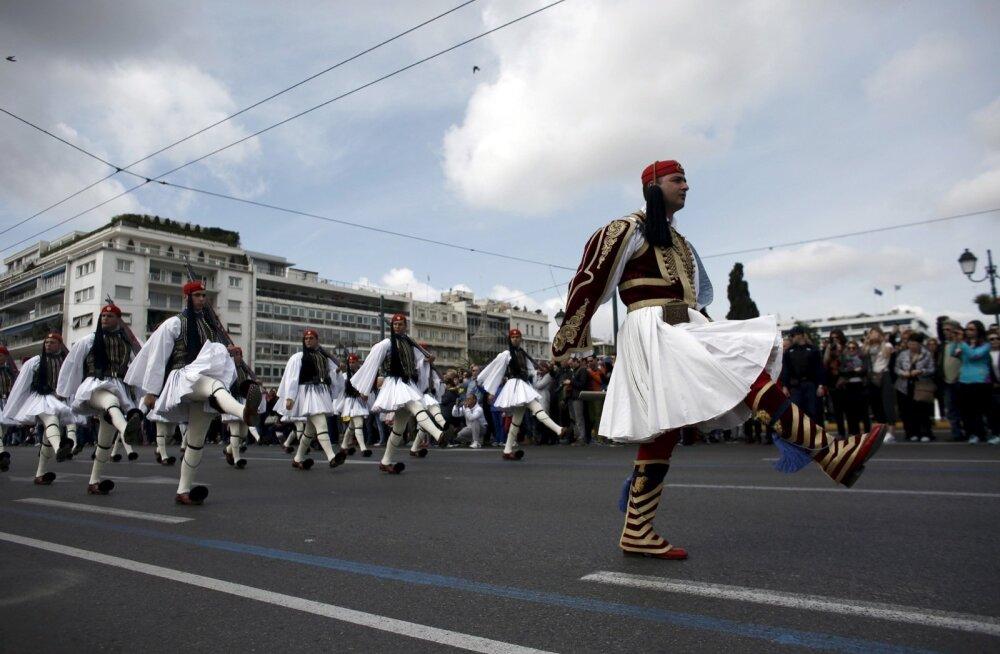 Kreeka nimetas Saksa okupatsiooni eest nõutava kompensatsiooni suuruseks ligi 279 miljardit eurot
