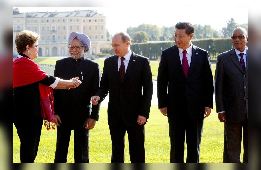 Putin: BRICS-i riigid peavad üheskoos vastu seisma USA-ga mittenõustuvate riikide tagakiusamisele