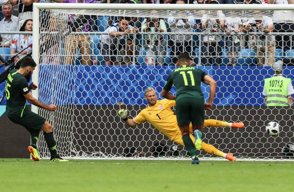 Austraalia penalti Taani vastu