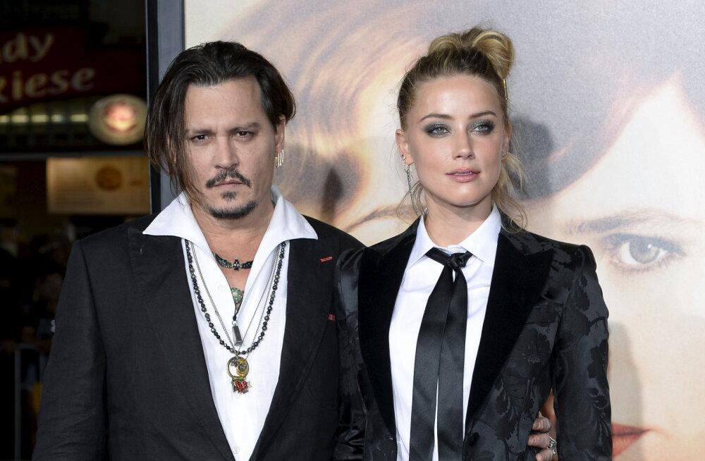 Pöörane väide: Johnny Depp süüdistab eksnaist grupiseksis kahe kuulsusega!