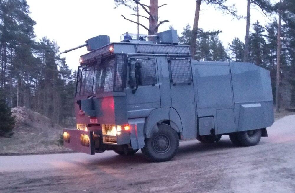 FOTOD: Hanno Pevkur: PPA kontrollis enneolematult ulatusliku piirivalveõppusega, kui kiiresti jõutakse Tallinnast kagupiirile