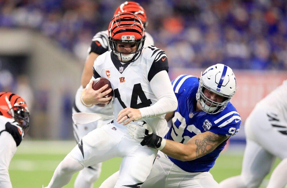 Vägev värk: Margus Hunt on ühes statistilises kategoorias selle hooaja NFL-i parim mees