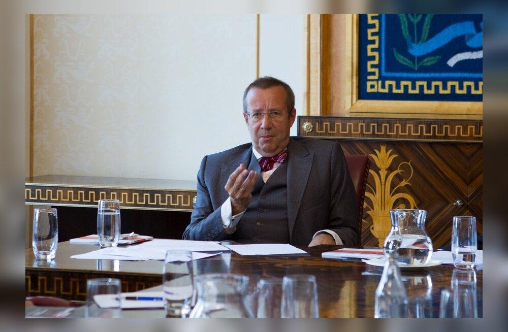 President Ilves kutsub üles jagama ideid, kuidas Eesti elu paremaks muuta