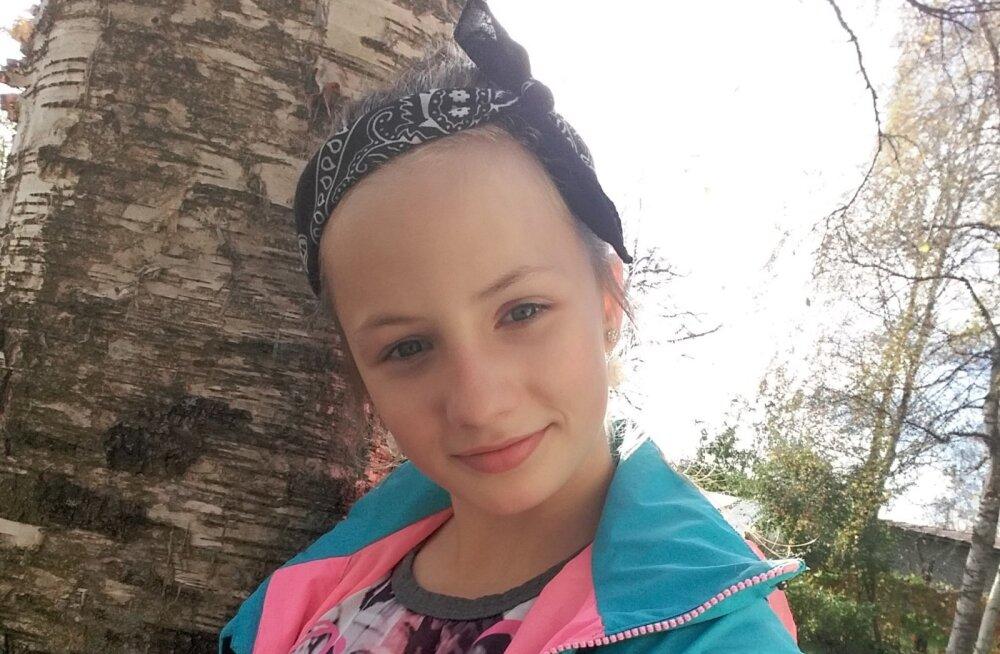 Politsei palub abi viiendat päeva kadunud 12-aastase Kätlini leidmisel