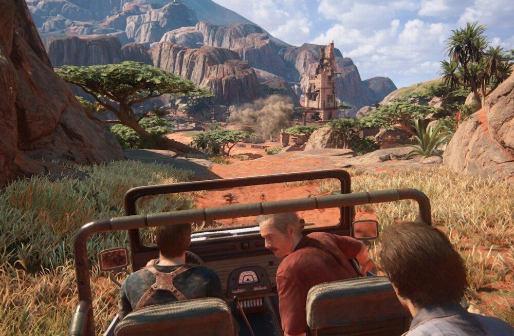 FORTE MÄNGUARVUSTUS: Uncharted 4: A Thief's End – just selline PlayStation 4 eksklusiiv, mida oleme pikalt oodanud!