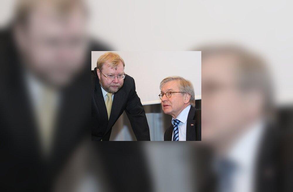 Mart Laar ja Rene van der Linden