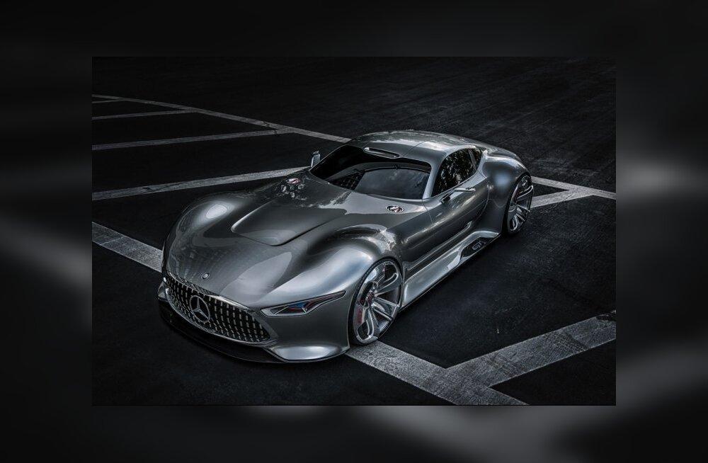 Mercedes-Benzi uusima ideeautoga saab sõita ainult videomängus