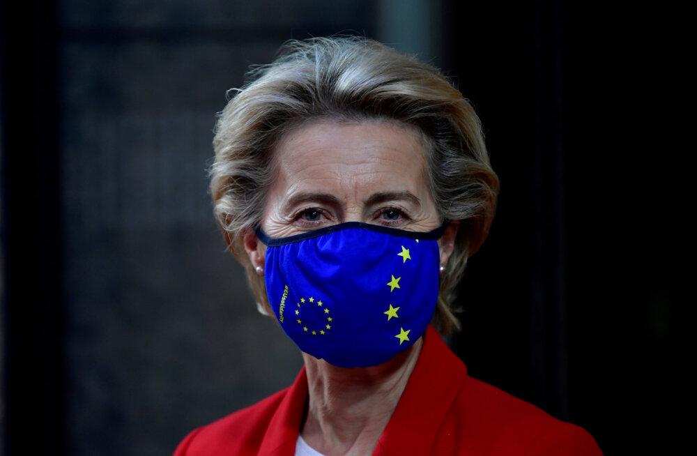 Euroopa Komisjoni president von der Leyen läks kontakti tõttu koroonapositiivsega eneseisolatsiooni