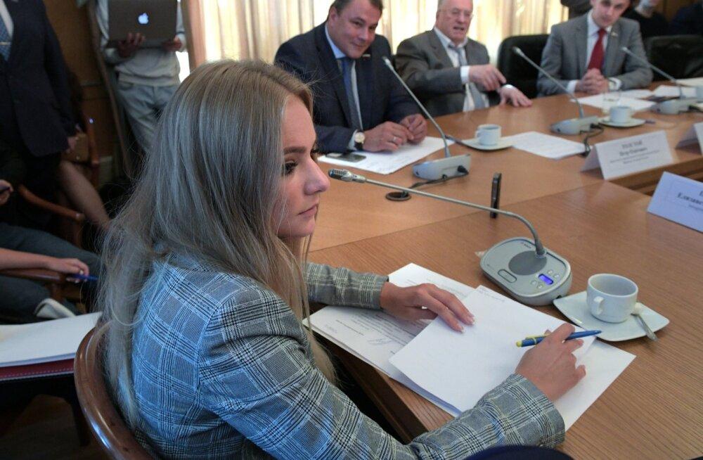 Kremli pressiesindaja tütar kaebas igapäevase küberkiusamise üle