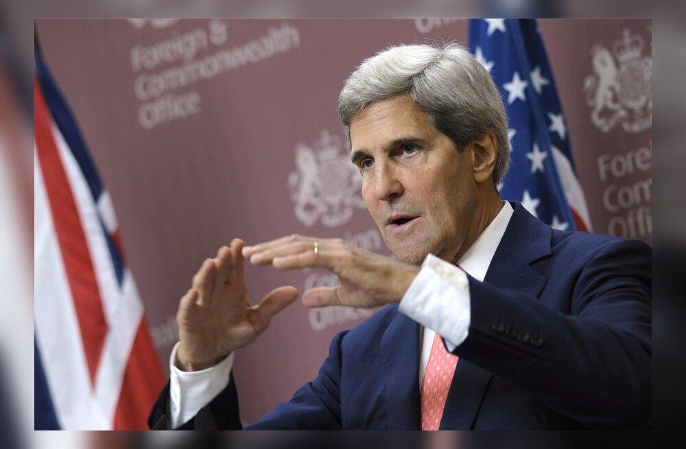 Kerry: Süüria ründamise hoiaks ära kõigi keemiarelvade loovutamine nädala jooksul