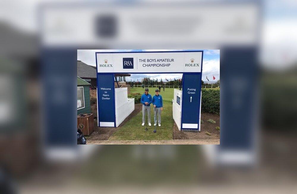 Eesti golfikoondis osaleb Suurbritannias prestiižikal võistlusel