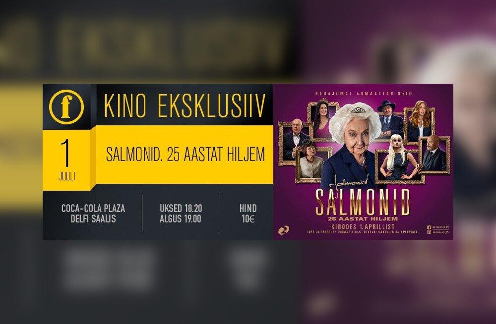 Kino Eksklusiiv toob vaatajate ette Salmonid