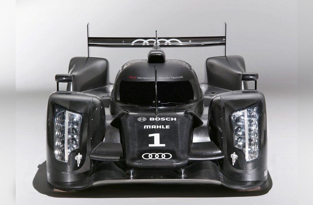 Audi R18 LMP1 täies kurjuses