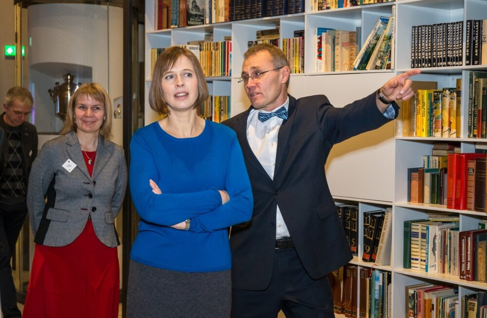 Kersti Kaljulaid Eesti Rahva Muuseumis