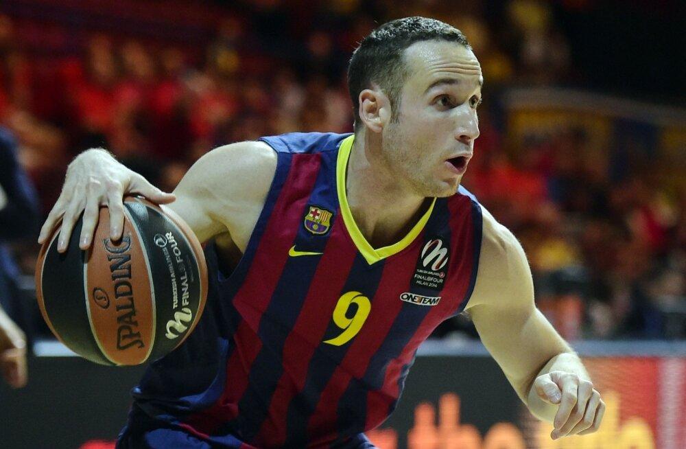 FC Barcelona mängujuht Marcelinho Huertas
