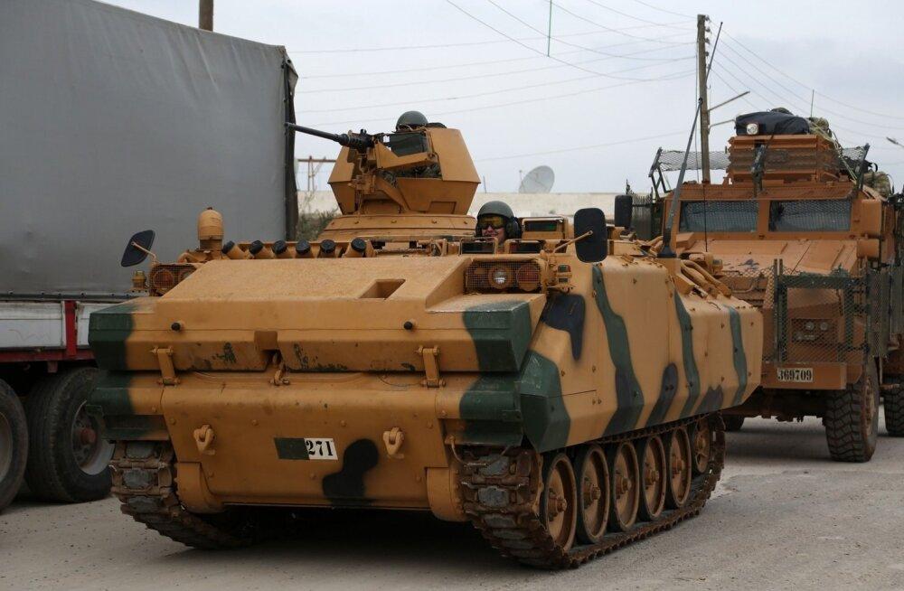 Süüria kurdid lõid Türgi väed kahest külast välja