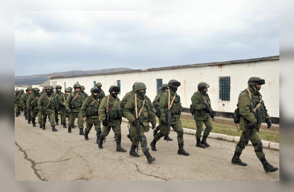 Ukraina ohvitser: kaitsesime sõjaväeosa kumminuiadega, venelased tulid kuulipildujatega