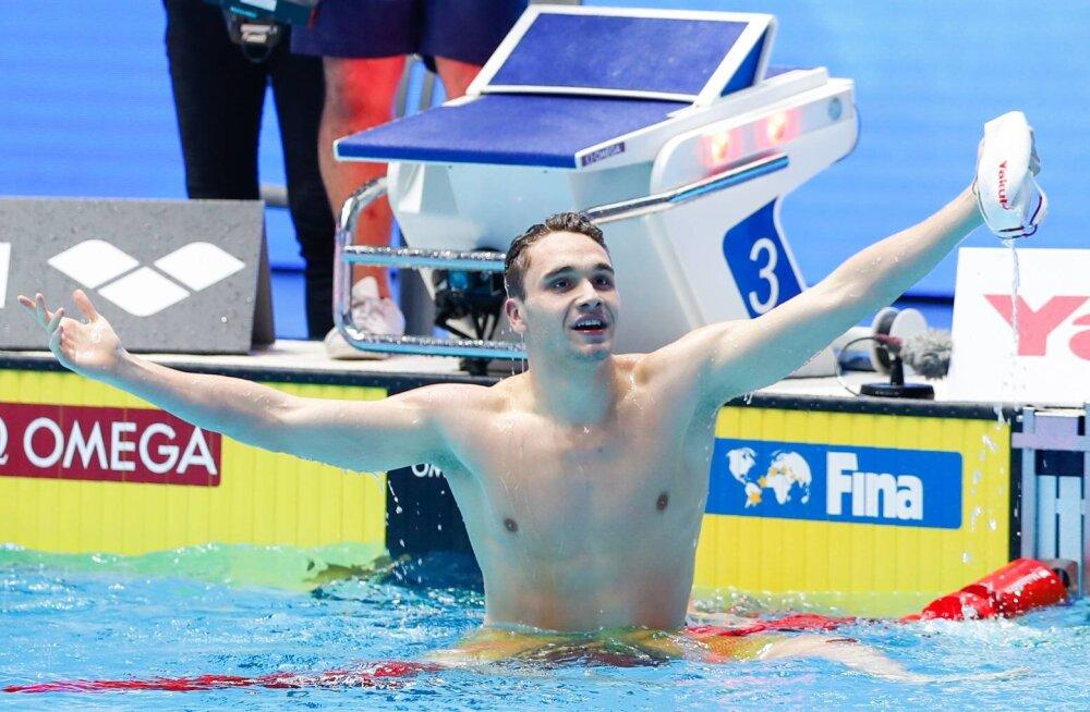 Võimas! Ungari talent purustas Michael Phelpsi 10-aastase maailmarekordi