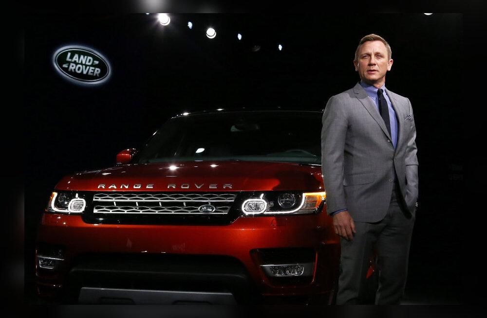 Päriselu kurikaelad varastasid üheksa uue Bondi filmi autot