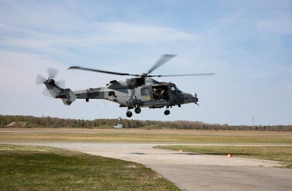 Ühendkuningriigi maaväe helikopter AW159 Wildcat