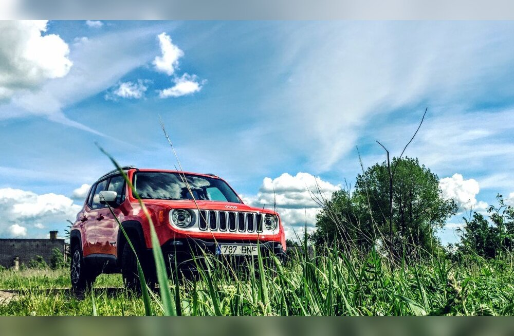 Sõidetud: Jeep Renegade 1.4 Multiair turbomootor, mõistliku inimese mõistlik valik