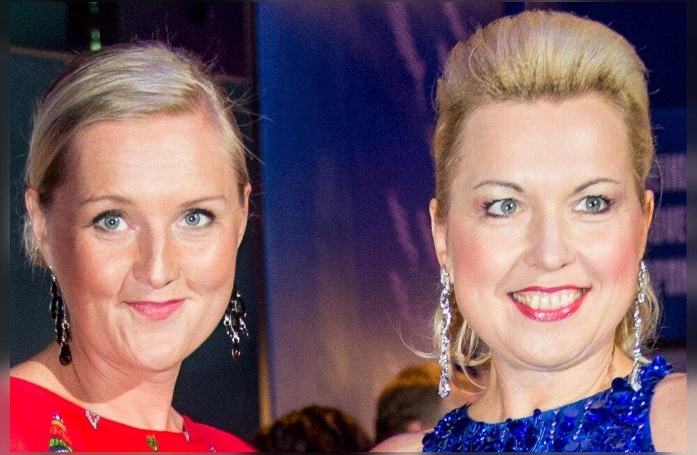 Ingrid ja Signe käisid koos 2014. aastal James Bondi stiilis TV3 sünnipäeval Meremuuseumis.
