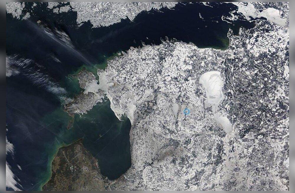NASA MODISe satelliidipilt
