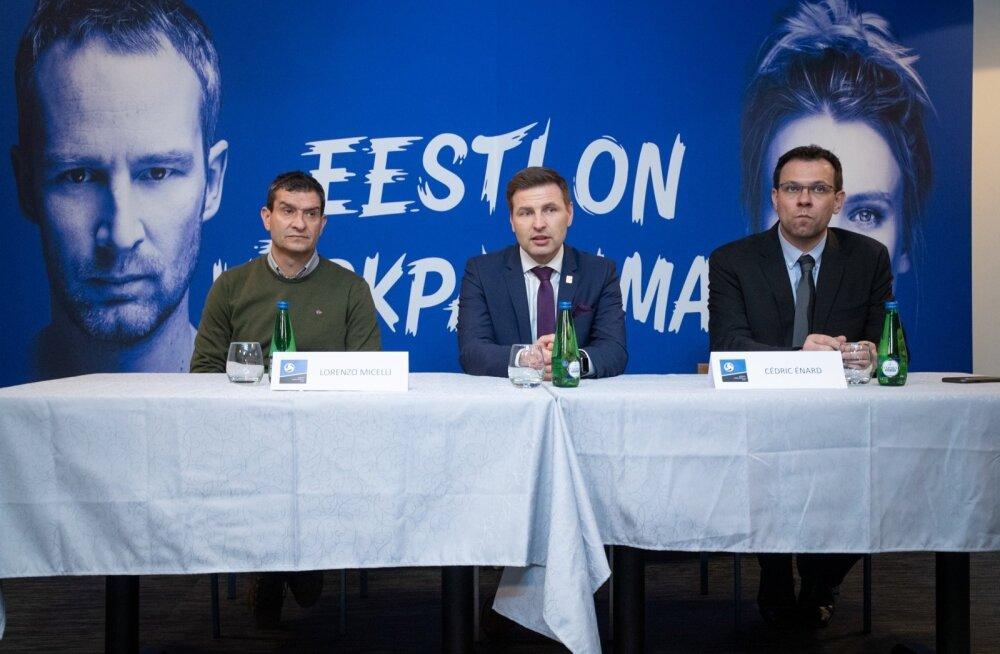 Eesti meeste ja naiste võrkpallikoondiste uued peatreenerid