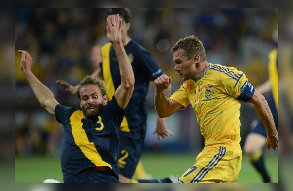 FOTOD: Vanameister Ševtšenko viis Ukraina D-alagrupi liidriks!
