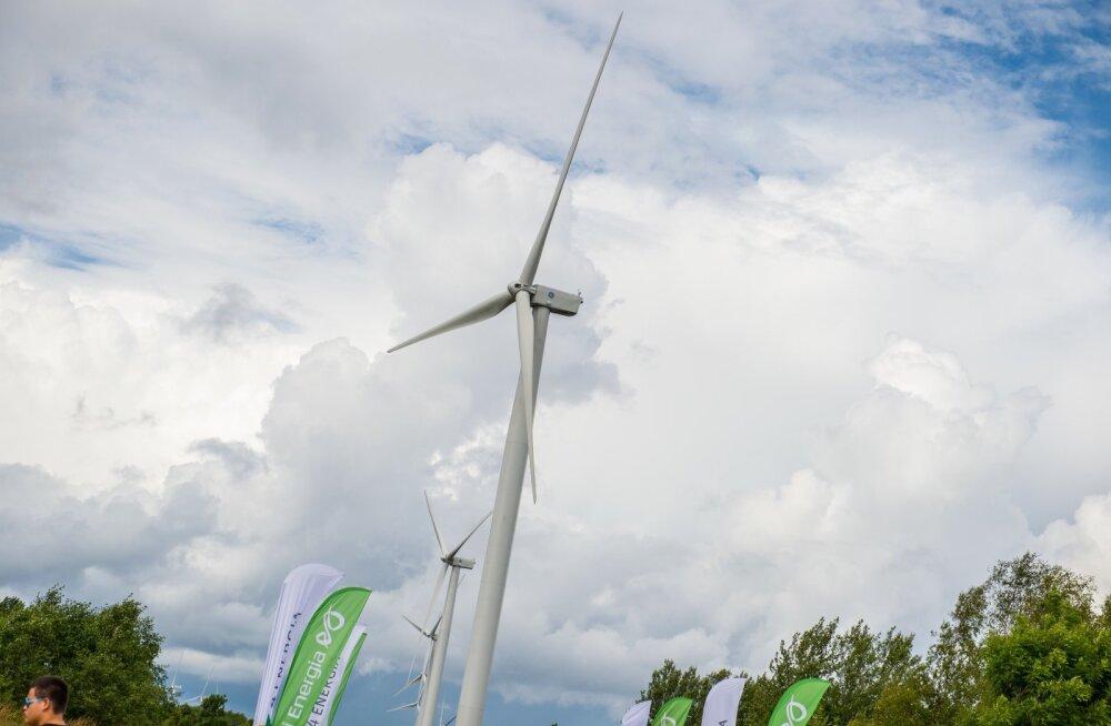 Eesti Energia ja Nelja Energia avasid Paldiskis uue tuulepargi