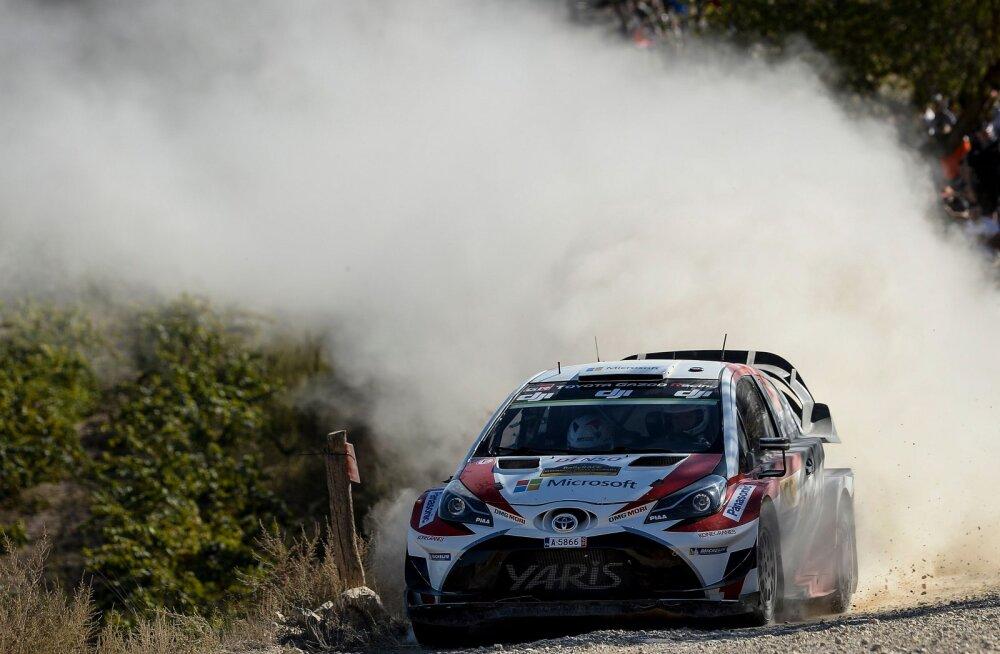 Toyota saadab Sardiinia WRC etapiks rajale neli masinat