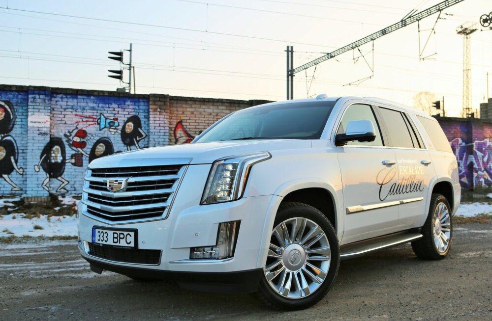 Cadillac Escalade — valgehai autode hulgas
