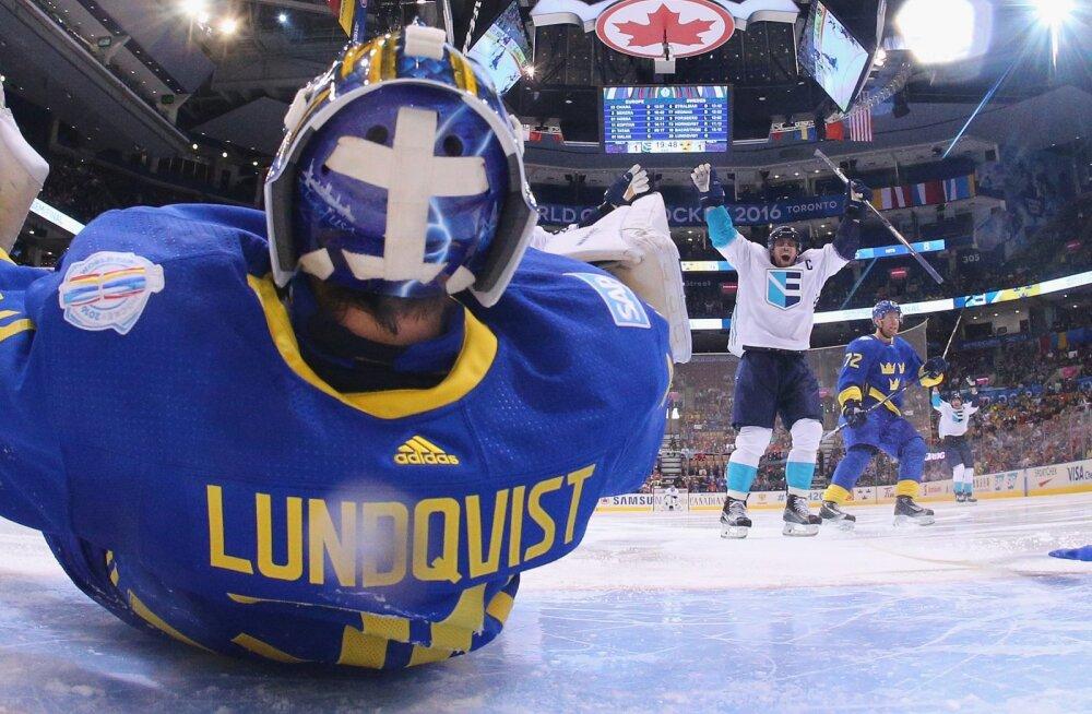 VIDEO: Euroopa võitis Maailma karikaturniiri teises poolfinaalis lisaajal Rootsit