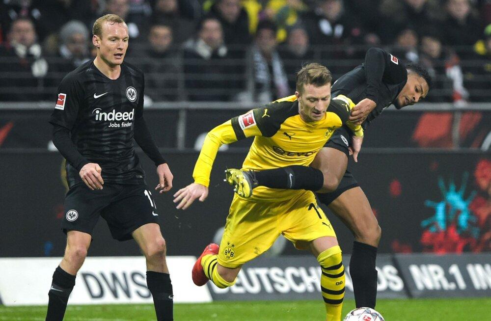 Dortmund kindlustas liidrikohta, Bayern kaotas Leverkusenile ja langes kolmandaks