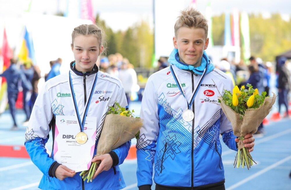 Brigitte Panker ja Olle Ilmar Jaama.