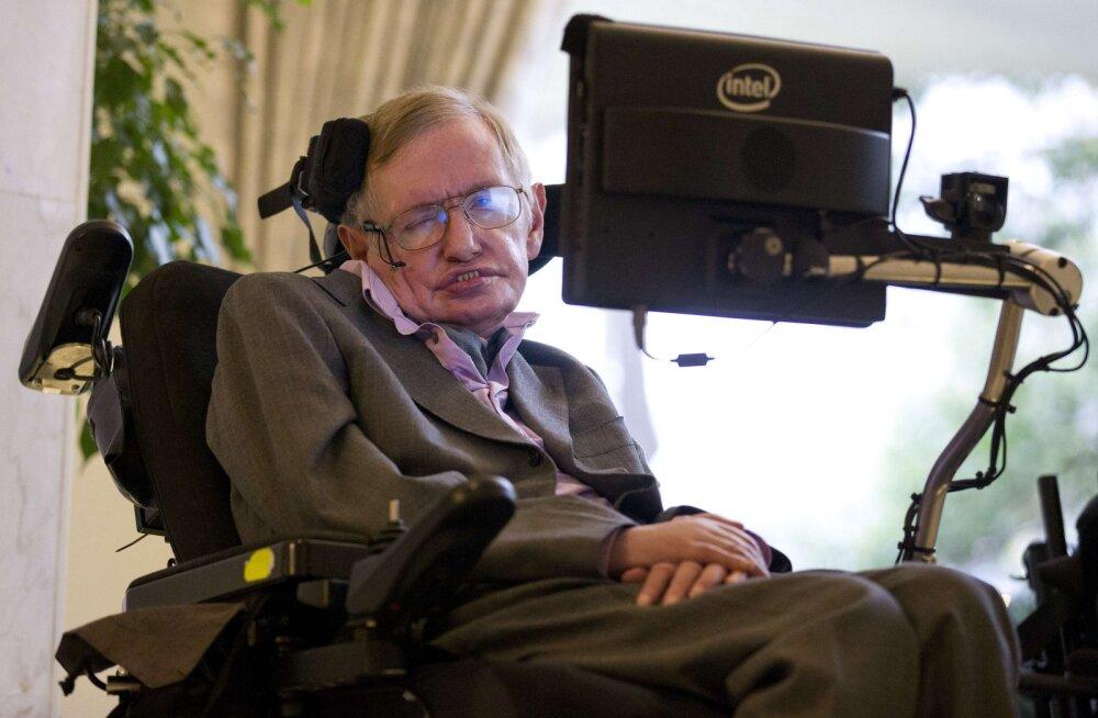 Kuulus oksjonimaja müüb maha hulga Stephen Hawkingu asju, muuhulgas tuleb müüki mehe ratastool