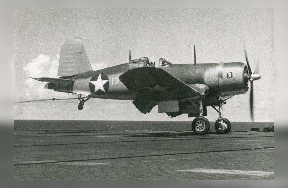 Veteväljade valitseja F4U Corsair: Sõjas jaapanlaste ülemvõimu kukutanud hävitaja